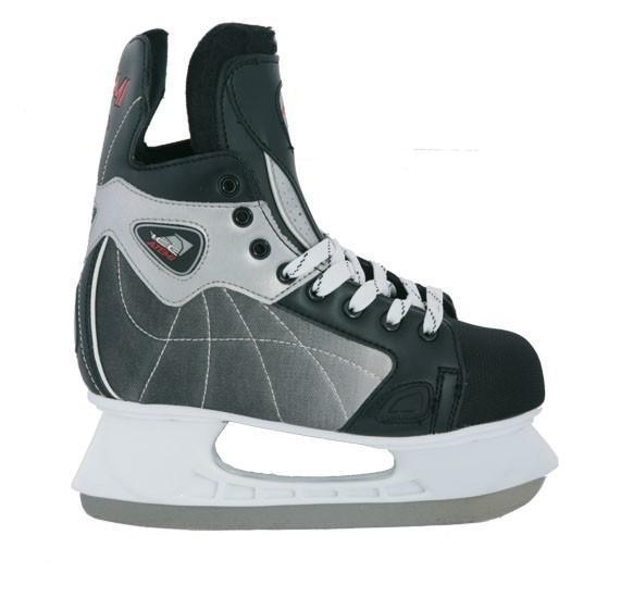 Коньки хоккейные Atemi Force 3.0 2012, цвет: серый,черный.Размер 40Atemi Force 3.0 2012 Black-GrayТренировочные коньки любительского и полупрофессионального класса. В коньках используются морозоустойчивые материалы и материалы повышенной прочности. УВАЖАЕМЫЕ КЛИЕНТЫ! Обращаем ваше внимание на тот факт, что товар маломерит. Рекомендуется брать на 1-2 размера больше с учетом теплого носка. Учитывайте это при оформлении заказа.