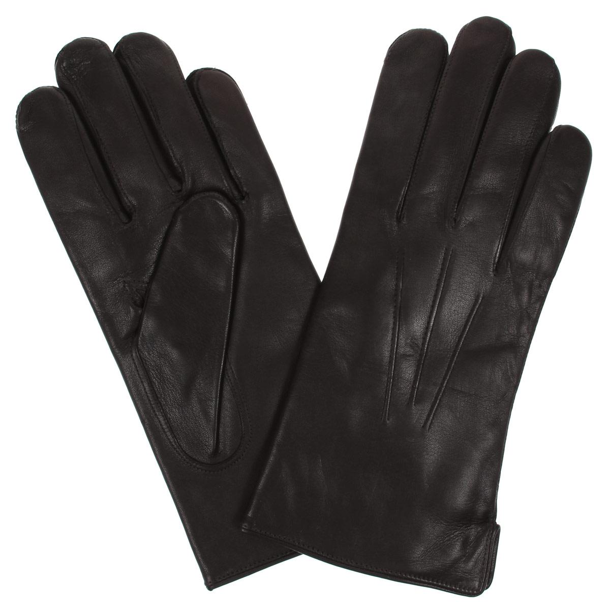 ПерчаткиDM12-234Классические мужские перчатки Bartoc не только защитят ваши руки, но и станут великолепным украшением. Они выполнены из мягкой и приятной на ощупь натуральной кожи ягненка, а их подкладка - из натуральной шерсти. На внешнем боку перчатки имеется небольшой разрез. Модель на лицевой стороне оформлена декоративной отстрочкой три луча. Перчатки прекрасно дополнят образ любого мужчины и сделают его более стильным, придав тонкую нотку брутальности. Создайте элегантный образ и подчеркните свою яркую индивидуальность новым аксессуаром!