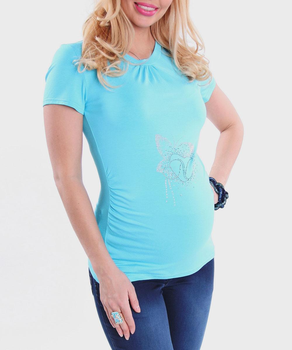Футболка1215.06Стильная, яркая, удобная футболка для будущих мам Nuova Vita с короткими рукавами и круглым вырезом горловины, изготовленная из эластичной вискозы, женственна и элегантна. Футболка прямого кроя, присборенная у горловины и по бокам, подчеркнет очарование будущей мамы. Модель украшена блестящими стразами, образующими изображение бабочки с сердечком. Высокая яркость свечения страз (класс АА) позволит вам выглядеть бесподобно при прогулках под солнцем. Эту легкую и невероятно приятную на ощупь футболку можно носить во время беременности и после родов, она подарит вам удобство и комфорт, и подчеркнет ваше очарование в этот прекрасный период вашей жизни! Вискоза является волокном, произведенным из натурального материала - целлюлозы (древесины). Иногда ее называют древесный шелк. Эта ткань на ощупь мягкая и приятная, образует красивые складки. Материал очень хорошо впитывает влагу, не образует катышек со временем, не выцветает на солнце и обладает приятным шелковистым...