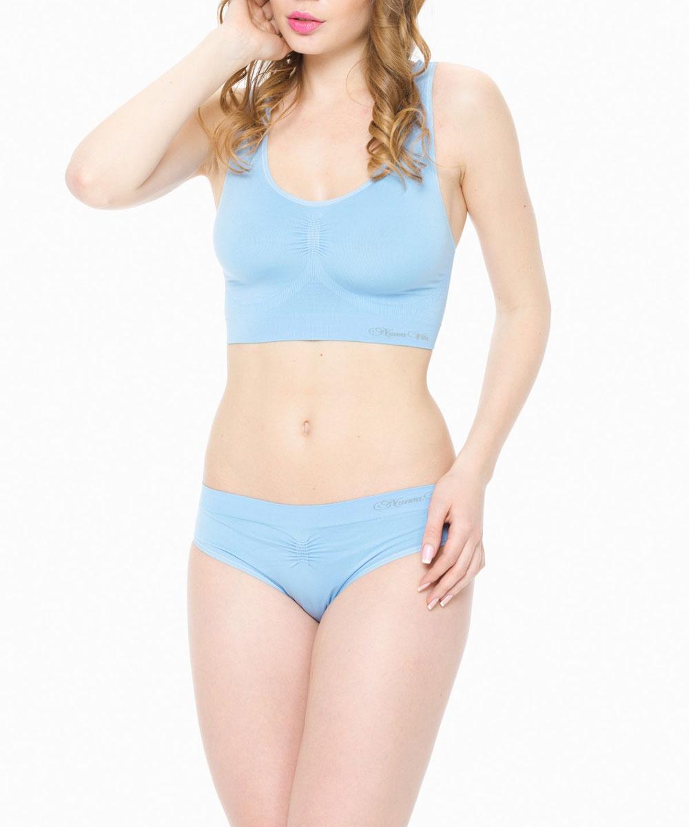 Майка-топ для беременных Nuova Vita, бесшовная, цвет: голубой. 15470. Размер L (46/48)15470Бесшовный дородовой бюстгальтер для беременных Nuova Vita благодаря особой вязке разной плотности эффективно поддерживает грудь и создает максимальный комфорт на протяжении всей беременности.Бесшовная технология создает непревзойденное ощущение комфорта во время ношения. Мягкие нити микрофибры предотвращают раздражение кожи в чувствительных местах. Эластичная ткань белья идеально адаптируется к изменяющимся размерам груди, сохраняя свою форму и функцию. Грудь нежно поддерживается встроенными бесшовными элементами топа. Прекрасно подходит для занятий йоги, спорта во время и после беременности.Майка-топ выполнена по NANOtechnology из шелковисто-мягкой микрофибры, которая обеспечивает максимальный комфорт в течение всего дня. Ткань дышащая, влагоабсорбирующая (Quick-drying) и имеет антибактериальную защиту благодаря технологиям Silver+.
