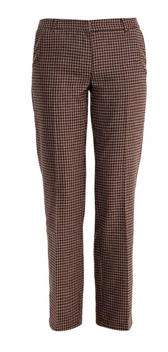 БрюкиB295530Классические женские брюки Baon из ткани с добавлением шерсти - элегантный вариант для холодной погоды. Материал изделия украшен всегда актуальным узором гусиная лапка. Изделие застёгивается на пуговицу и потайной крючок в поясе и ширинку на застежке-молнии, пояс дополнен шлевками для ремня. По бокам и сзади расположены по два врезных кармана. Эти модные и в тоже время комфортные брюки послужат отличным дополнением к вашему гардеробу. В них вы всегда будете чувствовать себя стильно и уверенно.