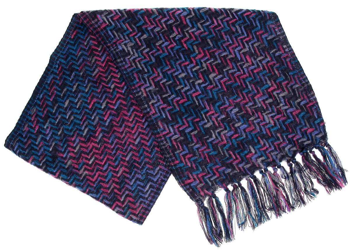 ШарфDK-21501-4Женский шарф Sophie Ramage станет отличным дополнением к вашему гардеробу в холодную погоду. Шарф, выполненный из шерсти с добавлением акрила, очень мягкий, теплый и приятный на ощупь. Модель оформлена вязаным рисунком, а по краям декорирована кисточками. Современный дизайн и расцветка делают этот шарф модным и стильным женским аксессуаром. Он подарит вам ощущение тепла, комфорта и уюта.
