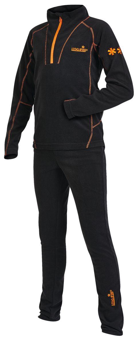 Термобелье комплект (брюки и кофта)308202Детский комплект термобелья Junior Nord, состоящий из толстовки и брюк, изготовлен из высококачественного микрофлиса - 100% полиэстера, который отлично отводит излишнюю влагу и сохраняет тепло, обеспечивая внутренний комфорт телу даже при высоких нагрузках. Толстовка с длинными рукавами-реглан и воротником-стойкой дополнена спереди небольшой застежкой молнией и оформлена контрастными фигурными швами и вышивкой. Спинка изделия удлинена. Брюки прямого покроя на талии имеют широкую эластичную резинку. Оформлено изделие небольшой вышивкой. В таком комплекте термобелья вашему ребенку будет тепло и комфортно.