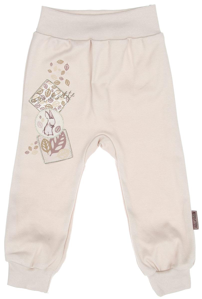 Штанишки01-0201Штанишки Linea Di Sette Зайка на широком поясе послужат идеальным дополнением к гардеробу вашего ребенка. Изделие изготовлено из высококачественного органического полотна в соответствии с принятыми стандартами. Органический хлопок - это безвредная альтернатива традиционному хлопку, ткани из него не вредят нежной коже малыша, а также их производство безопасно для окружающей среды. Органический хлопок очень мягкий, отлично пропускает воздух, обеспечивая максимальный комфорт. Штанишки, благодаря мягкому трикотажному поясу, не сдавливают животик ребенка и не сползают. Низ брючин дополнен мягкими широкими манжетами. Модель оформлена принтом с изображением зайки, а также украшена вышивкой. Штанишки идеально подходят для ношения с подгузником и без него. В них крохе будет удобно и комфортно.