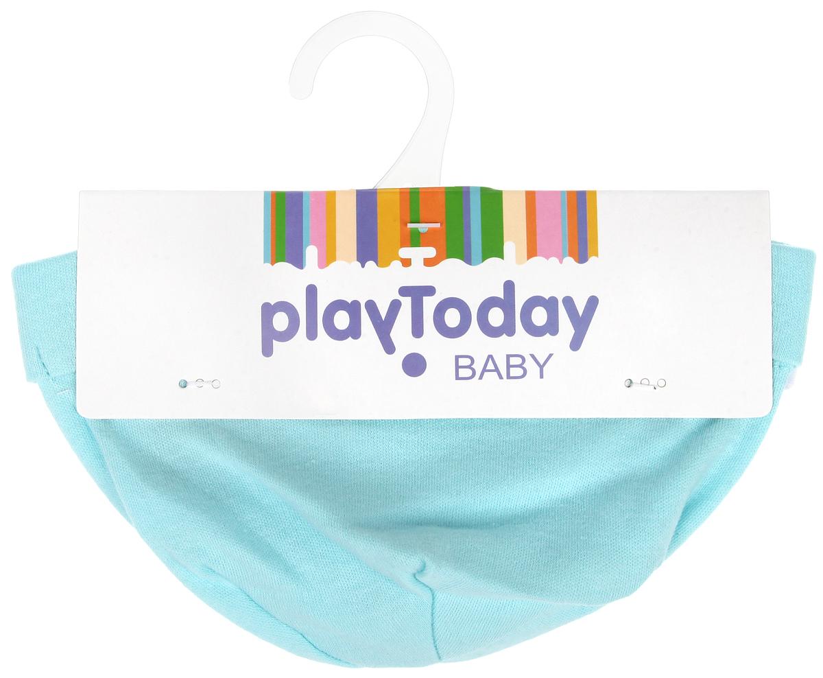 Шапочка167861Шапочка PlayToday Baby защищает еще не заросший родничок от ветра и солнца. Изготовленная из натурального хлопка, она необычайно мягкая и легкая, не раздражает нежную кожу ребенка и хорошо вентилируется. Плоские швы не мешают крохе и обеспечивают максимальный комфорт. В комплект входят две шапочки с отворотом, одна из которых однотонная, а другая - оформлена принтом с изображением цветных звездочек по всей поверхности. В таких шапочках вашему крохе будет комфортно и уютно. Уважаемые клиенты! Размер, доступный для заказа, является обхватом головы ребенка.