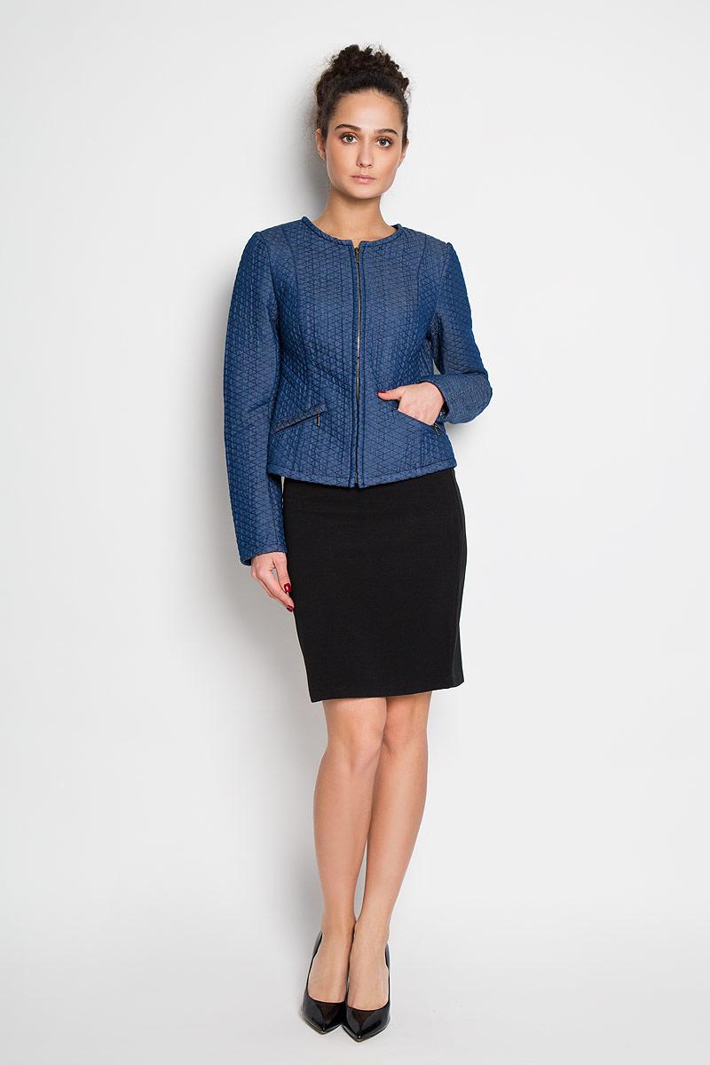 ЮбкаSKk-118/818-6171Стильная мини-юбка Sela выполнена из плотного эластичного материала. Модель сбоку застегивается на потайную застежку-молнию. Элегантная юбка выгодно освежит и разнообразит любой гардероб. Создайте женственный образ и подчеркните свою яркую индивидуальность!