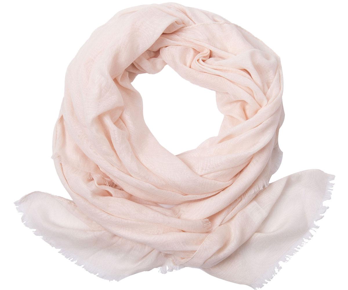 Палантин женский Модные истории, цвет: бледно-розовый. 21/0453/002. Размер 90 см х 180 см21/0453/002Легкий однотонный палантин с нежным принтом пейсли, который подчеркнет ваш стильный образ. Он выполнен из хлопка и полиэстера. По торцевым сторонам декорирован бахромой. Легко и красиво драпируется.Этот модный аксессуар женского гардероба гармонично дополнит образ современной женщины, следящей за своим имиджем и стремящейся всегда оставаться стильной и элегантной.