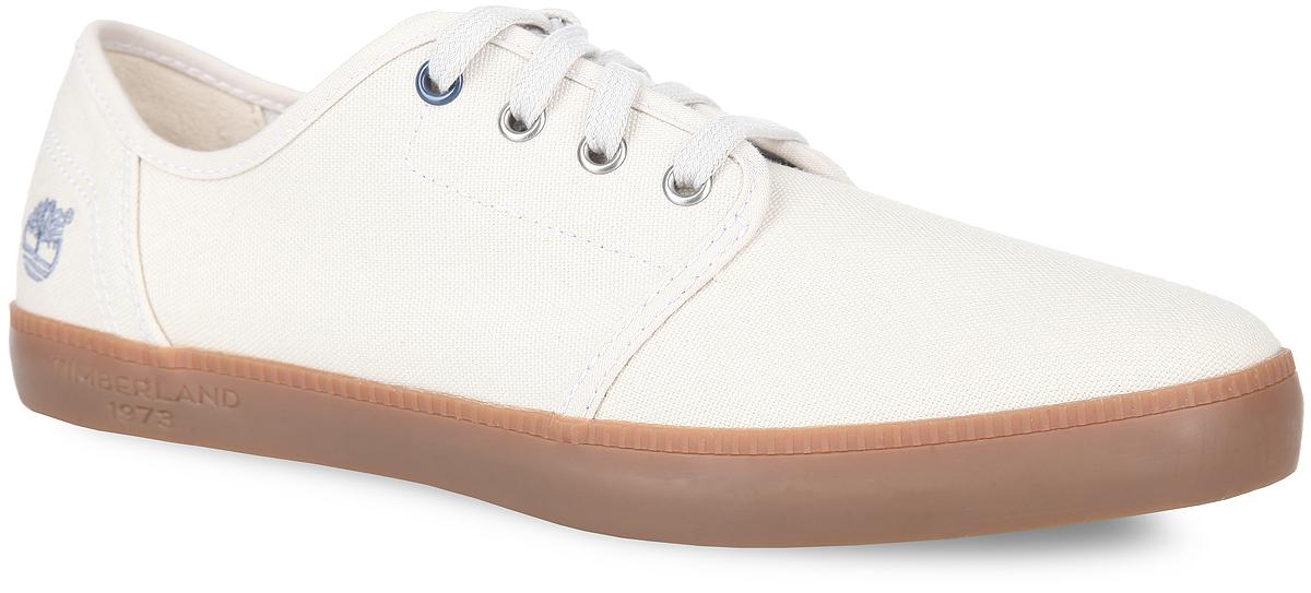 КедыTBLA14WEMМодные мужские кеды Newport Bay Canvas Plain Toe Oxford от Timberland заинтересуют вас своим дизайном с первого взгляда! Модель изготовлена из прочного текстиля и оформлена на задней поверхности вышитым логотипом бренда. Шнуровка прочно зафиксирует обувь на вашей ноге. Стелька из материала EVA с текстильной поверхностью обеспечивает комфорт и амортизацию при движении. Рифление на подошве гарантирует идеальное сцепление с поверхностью. Стильные кеды займут достойное место в вашем гардеробе.