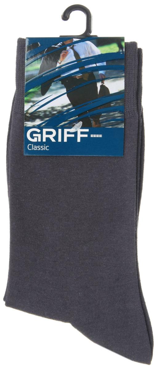 НоскиA1Мужские носки Griff Classic изготовлены из высококачественного сырья с добавлением полиамидных волокон, которые обеспечивают великолепную посадку. Носки отличаются элегантным внешним видом. Удобная широкая резинка идеально облегает ногу и не пережимает сосуды, усиленные пятка и мысок повышают износоустойчивость носка, а удлиненный паголенок придает более эстетичный вид.