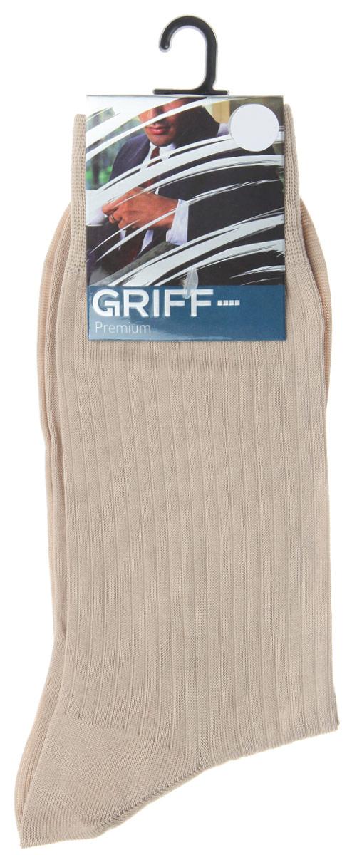 НоскиE4Мужские носки Griff Premium изготовлены из высококачественного сырья с добавлением полиамидных волокон, которые обеспечивают великолепную посадку. Носки отличаются элегантным внешним видом. Удобная широкая резинка идеально облегает ногу и не пережимает сосуды, усиленные пятка и мысок повышают износоустойчивость носка, а удлиненный паголенок придает более эстетичный вид.