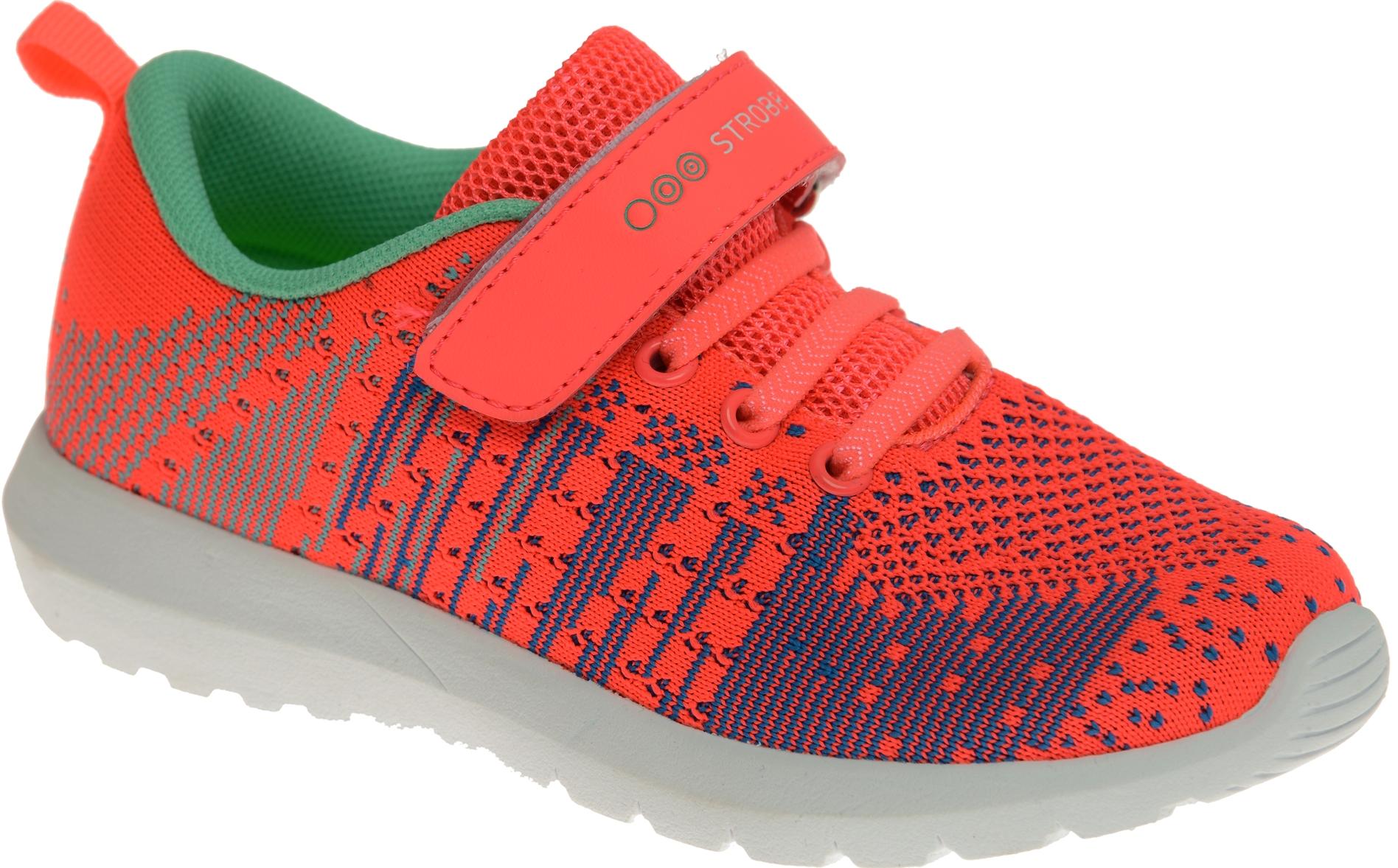 Кроссовки для девочки Strobbs, цвет: оранжевый. N1544-12. Размер 32N1544-12Стильные кроссовки для девочки Strobbs отлично подойдут для активного отдыха и повседневной носки. Верх модели выполнен из вязаного текстиля. Удобная шнуровка и хлястик на липучке надежно зафиксируют модель на стопе. Особая форма подошвы обеспечит удобство при ходьбе и отличную амортизацию.