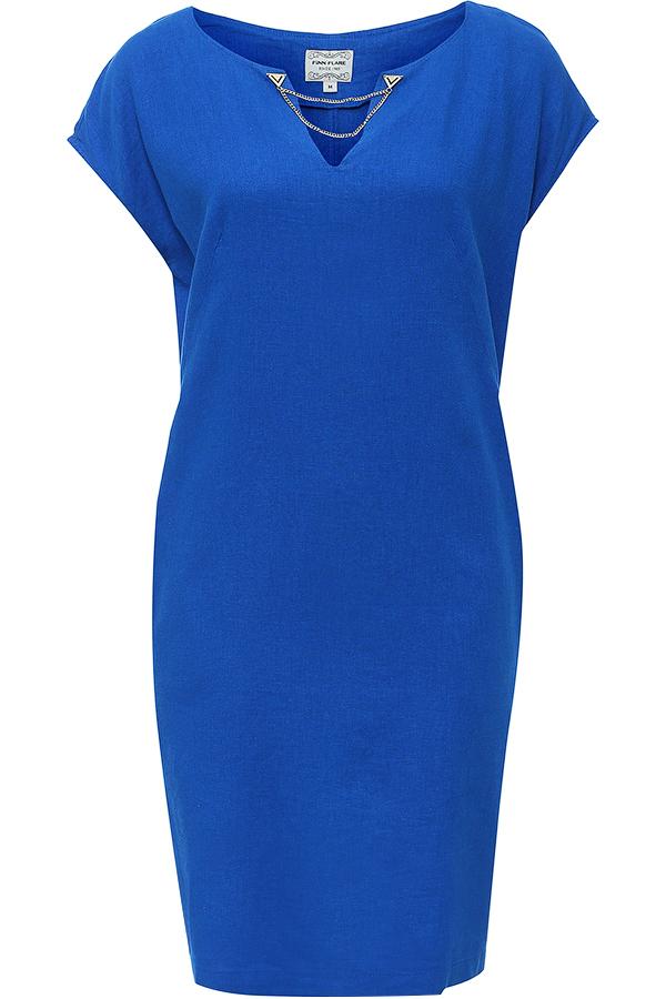 ПлатьеS16-12069_132Стильное платье-миди Finn Flare, выполненное из высококачественного лёгкого материала. Такое платье обеспечит вам комфорт и удобство при носке. Модель свободного кроя с цельнокроеным коротким рукавом и V-образным вырезом горловины дополнена боковыми прорезными карманами. На спинке предусмотрена шлица. Платье украшено металлической пластиной с логотипом бренда, а вырез горловины декорирован металлической цепочкой. Это модное и в то же время комфортное платье послужит отличным дополнением к вашему гардеробу. В нем вы всегда будете выглядеть обворожительно и неповторимо.