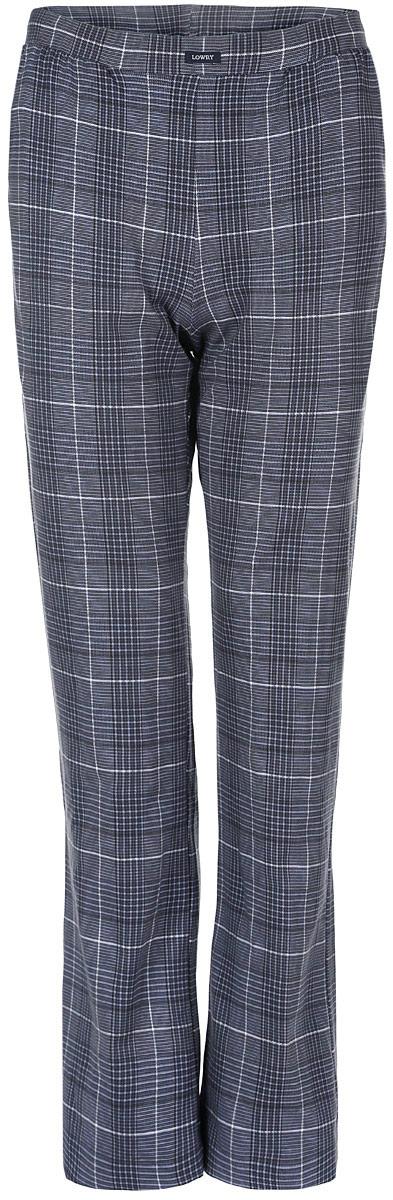 Брюки мужские Lowry, цвет: серо-синий, белый. MTL-2. Размер M (46-32)MTL-2Мужские брюки Lowry выполнены из хлопка с добавлением лайкры. Такая модель не сковывает свободу движений, а благодаря стильному дизайну, они прекрасно впишутся в ваш гардероб.В таких брюках вы будете чувствовать себя комфортно и дома, и на отдыхе.