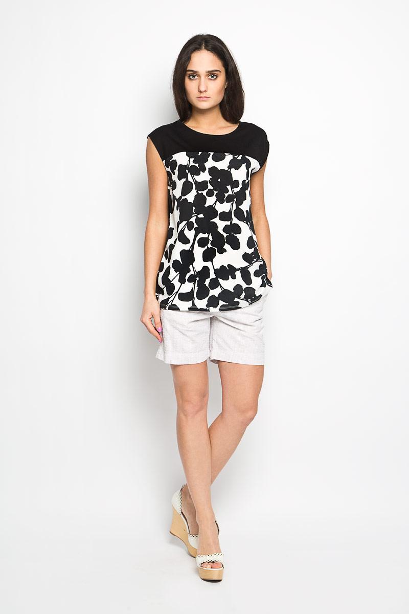 БлузкаSBW0228BIСтильная женская блуза Top Secret, выполненная из полиэстера, подчеркнет ваш уникальный стиль и поможет создать оригинальный женственный образ. Свободная блузка без рукавов, с круглым вырезом горловины застегивается на пуговицу на спинке. Модель украшена цветочным принтом. Нижняя часть модели по боковому шву оформлена разрезами. Такая блузка будет дарить вам комфорт в течение всего дня и послужит замечательным дополнением к вашему гардеробу.