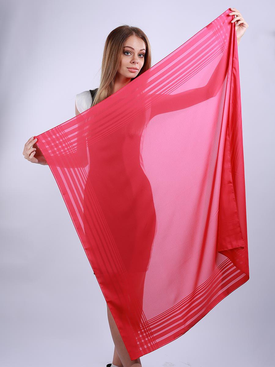 Платок женский Venera, цвет: малиновый. 3902327-08. Размер 100 см х 100 см3902327-08Стильный женский платок Venera станет великолепным завершением любого наряда. Платок изготовлен из полиэстера в лаконичном дизайне. Классическая квадратная форма позволяет носить платок на шее, украшать им прическу или декорировать сумочку. Легкий и приятный на ощупь платок поможет вам создать изысканный женственный образ. Такой платок превосходно дополнит любой наряд и подчеркнет ваш неповторимый вкус и элегантность.