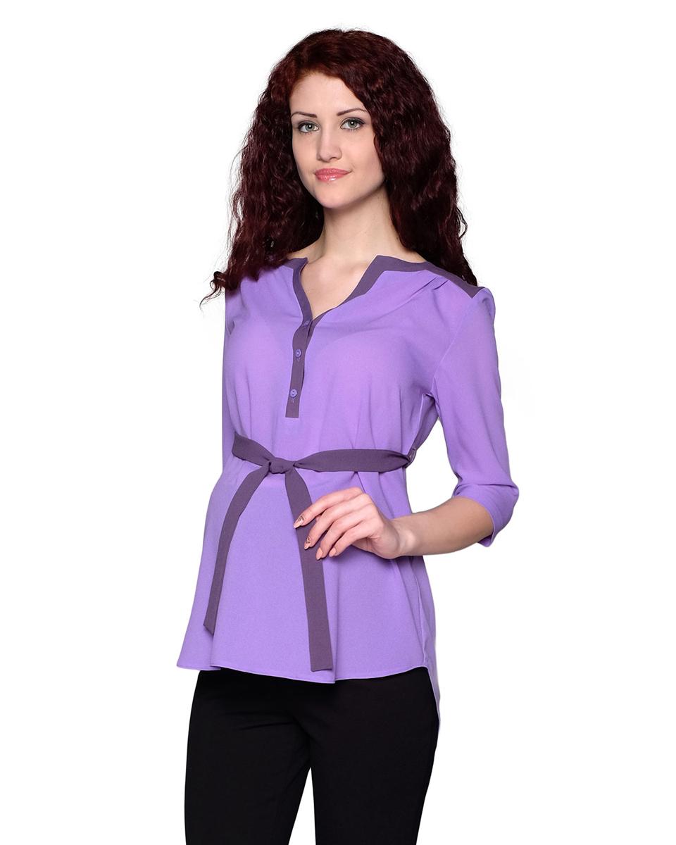 Блузка1-185518ВБлузка, выполненная в комбинации из однотонных полотен, будет радовать вас не только в период беременности, но и в период кормления малыша. Фэст — одежда по вашей фигуре.