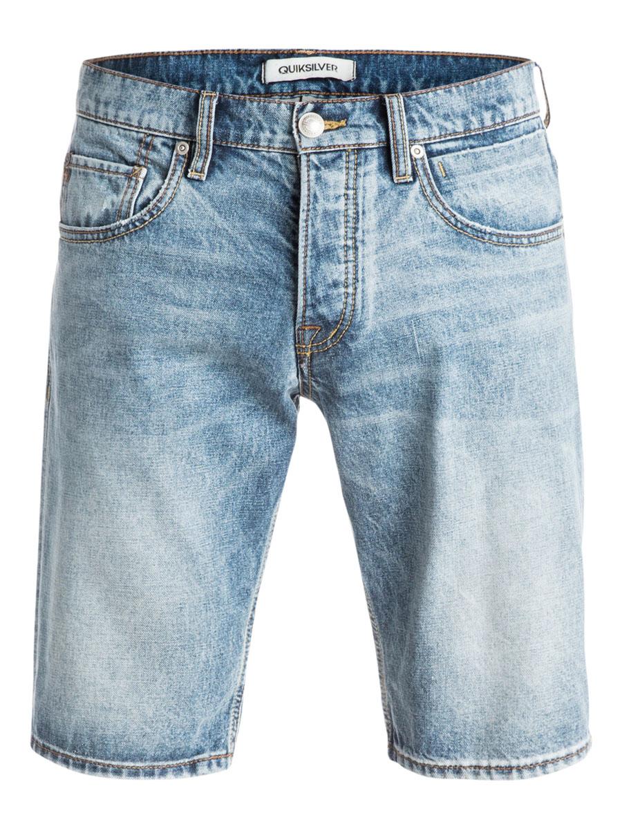 ШортыEQYDS03040-BGVWМужские шорты Quiksilver выполнены из натурального хлопка. Шорты застегиваются на ширинку на пуговицах и пуговицу на поясе, имеются шлевки для ремня. Модель дополнена двумя втачными карманами и одним накладным кармашком спереди, а также двумя накладными карманами сзади. Шорты украшены декоративными потертостями и перманентными складками.