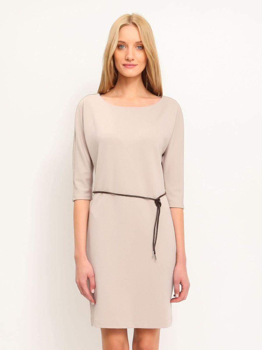 ПлатьеSSU1458BEПлатье Top Secret станет стильным дополнением к вашему гардеробу. Платье, изготовленное из мягкой эластичной вискозы с добавлением полиэстера, тактильно приятное, хорошо вентилируется. Модель с круглым вырезом горловины и руками 3/4 застегивается сзади на небольшую скрытую молнию. Линию талии подчеркивает ремешок на тонких шлевках. Такое платье займет достойное место в вашем гардеробе, а также подарит вам комфорт в течение всего дня.