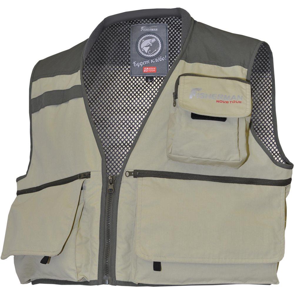 Жилет для рыбалки и охоты95734-530Классический разгрузочный жилет для рыболовов. Имеет большое количество карманов под любые приманки. Не занимает много места и может использоваться при любом типе рыбалки. Модель дополнена флисовым воротником, нагрудной стяжкой, сетчатой подкладкой, поясной стяжкой и внутренним сетчатым карманом.