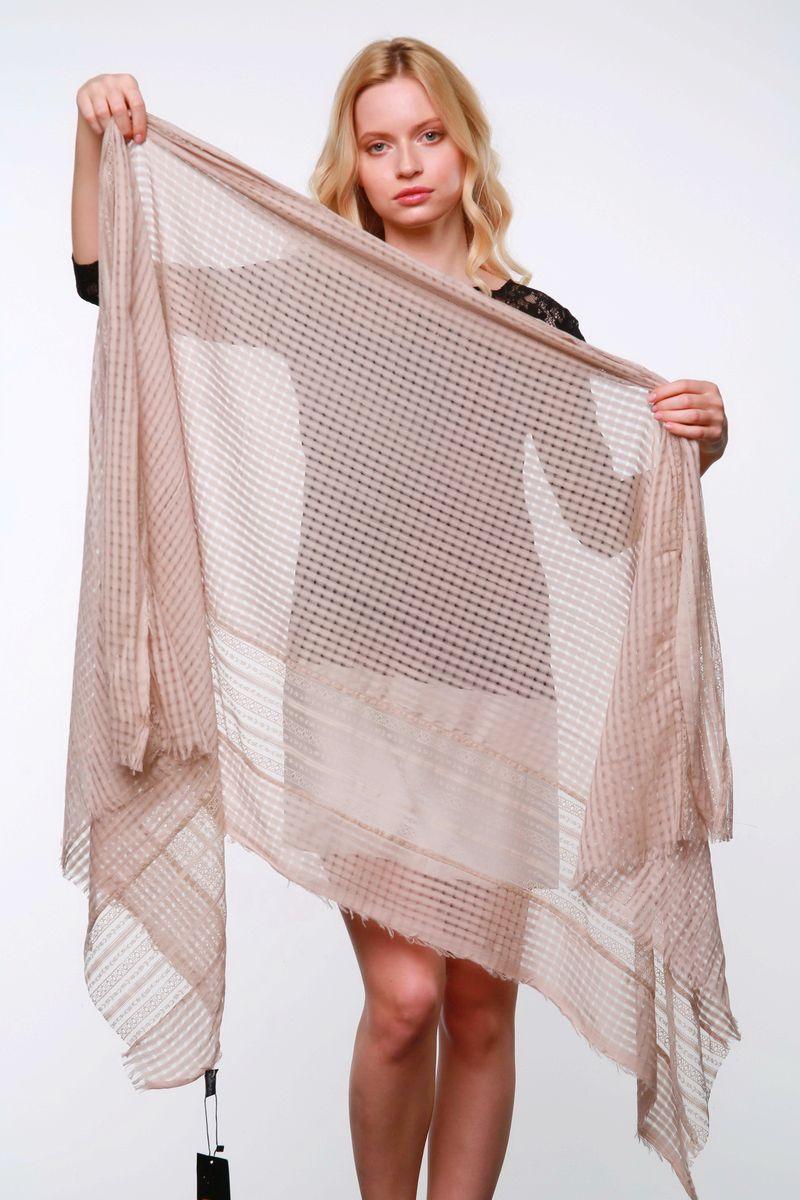 Палантин0358-1Стильный женский палантин Laura Milano станет великолепным завершением любого наряда. Палантин изготовлен из натурального хлопка и оформлен ажурной вышивкой. По краю модель украшена неширокой бахромой. Легкий и изящный палантин поможет вам создать изысканный женственный образ, а также согреет в непогоду.