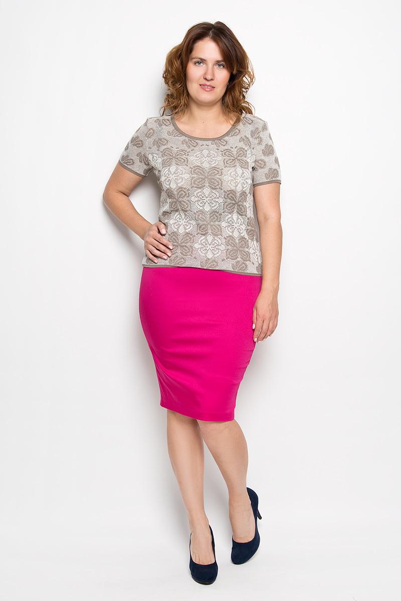 Юбка Milana Style, цвет: фуксия. 30316. Размер S (44)30316Эффектная юбка-карандаш Milana Style выполнена из хлопка с добавлением полиэстера, она обеспечит вам комфорт и удобство при носке. Такой материал обладает высокой гигроскопичностью, великолепно пропускает воздух и не раздражает кожуОднотонная юбка-карандаш застегивается на застежку-молнию сбоку, на поясе имеются шлевки для ремня. Модная юбка выгодно освежит и разнообразит ваш гардероб. Создайте женственный образ и подчеркните свою яркую индивидуальность! Классический фасон и оригинальное оформление этой юбки позволят вам сочетать ее с любыми нарядами