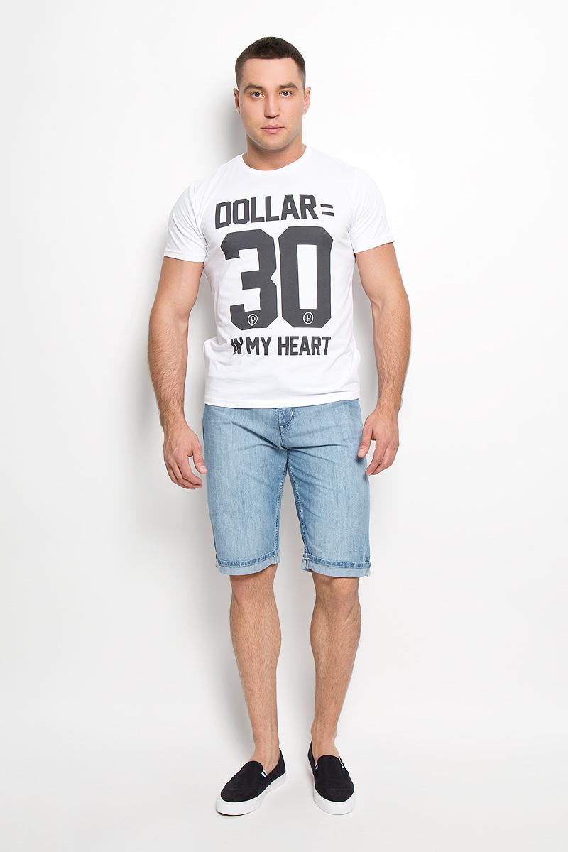 Шорты160153_0889Стильные и практичные мужские джинсовые шорты F5 великолепно подойдут для повседневной носки и помогут вам создать незабываемый современный образ. Классическая модель стандартной посадки изготовлена из натурального хлопка, благодаря чему великолепно пропускает воздух, обладает высокой гигроскопичностью и превосходно сидит. Шорты застегиваются на ширинку на застежке-молнии, а также пуговицу на поясе. На поясе расположены шлевки для ремня. Шорты имеют классический пятикарманный крой, они оснащены двумя втачными карманами и небольшим накладным кармашком спереди, и двумя втачными карманами сзади. Брючины модели украшены декоративными отворотами. Эти модные и в тоже время удобные шорты станут великолепным дополнением к вашему гардеробу. В них вы всегда будете чувствовать себя уверенно и комфортно.
