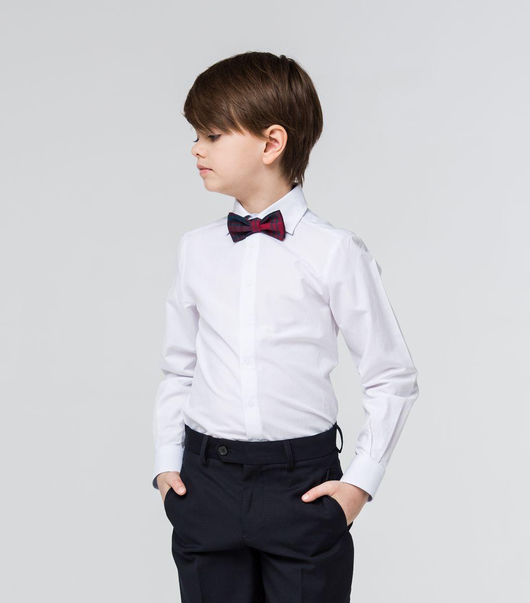 РубашкаSSFSB-629-13831-299Стильная рубашка Silver Spoon станет отличным дополнением к школьному гардеробу вашего мальчика. Модель, выполненная из хлопка с добавлением полиэстера, необычайно мягкая и приятная на ощупь, не сковывает движения и позволяет коже дышать. Рубашка классического кроя с длинными рукавами и отложным воротником застегивается на кнопки по всей длине. На манжетах предусмотрены застежки-кнопки.