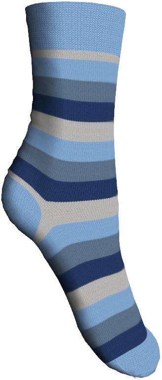 Носки детские Master Socks Sunny Kids, цвет: голубой. 82602. Размер 1682602Детские носки Master Socks Sunny Kids изготовлены из высококачественных материалов. Ткань очень мягкая и тактильно приятная. Содержание бамбука в составе обеспечивает высокую прочность, эластичность и воздухопроницаемость. Изделие хорошо стирается, длительное время сохраняет привлекательный внешний вид. Эластичная резинка мягко облегает ножку ребенка, обеспечивая удобство и комфорт. Модель оформлена принтом в полоску. Удобные и прочные носочки станут отличным дополнением к детскому гардеробу!Уважаемые клиенты!Размер, доступный для заказа, является длиной стопы.