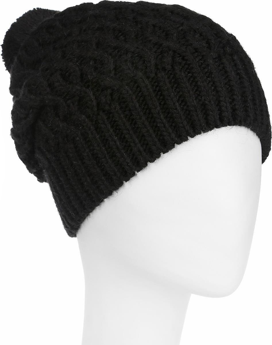 Шапка2-009-002Вязаная женская шапка Flioraj отлично дополнит ваш образ в холодную погоду. Шапка из мягкой пряжи, выполнена крупной вязкой с ажурными косами и дополнена вязкой в резинку по нижнему краю. Сочетание используемых материалов максимально сохраняет тепло и обеспечивает удобную посадку. Теплая шапка с помпоном станет отличным дополнением к вашему осеннему или зимнему гардеробу, в ней вам будет уютно и тепло!