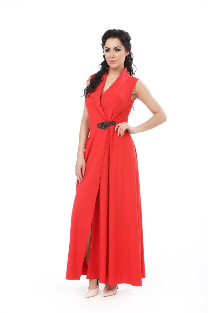 ПлатьеБастилияПлатье Krisna Бастилия выполнено из вискозы с добавлением эластана. Платье-макси с воротником-шалью имеет запах и застегивается хлястиком.