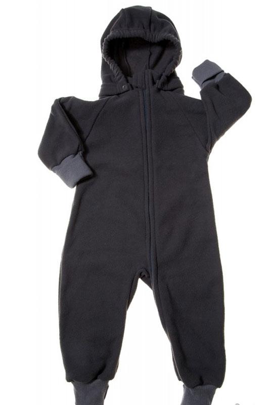 Комбинезон утепленный35220Универсальный детский комбинезон теплый и уютный. Капюшон на кнопках. Модель застегивается на молнию. Манжеты выполнены из трикотажа.
