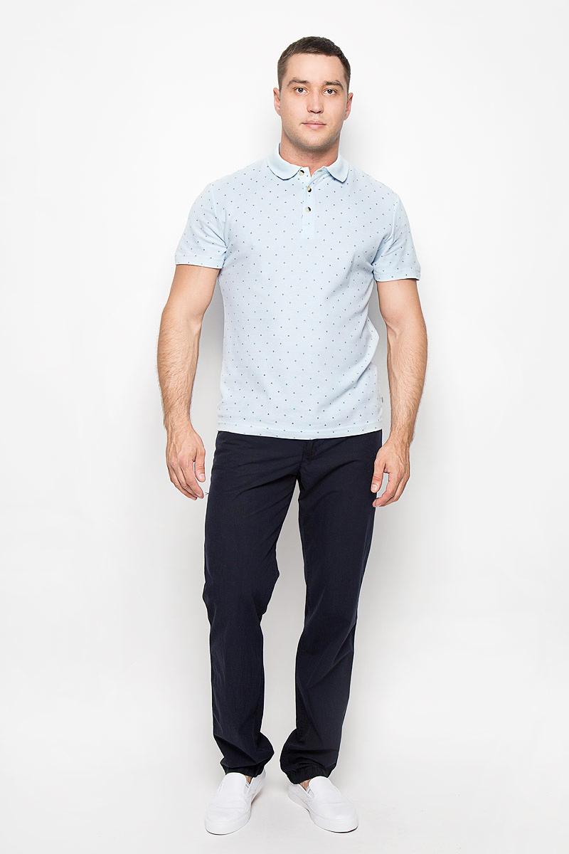 ПолоS16-21032_101Мужская футболка-поло Finn Flare, изготовленная из натурального хлопка, обладает высокой теплопроводностью, воздухопроницаемостью и гигроскопичностью, позволяет коже дышать. Модель с короткими рукавами и отложным воротником - идеальный вариант для создания оригинального современного образа. Сверху футболка застегивается на 3 пуговицы. Модель оформлена принтом в мелкий ромбик. Такая модель подарит вам комфорт в течение всего дня и послужит замечательным дополнением к вашему гардеробу.
