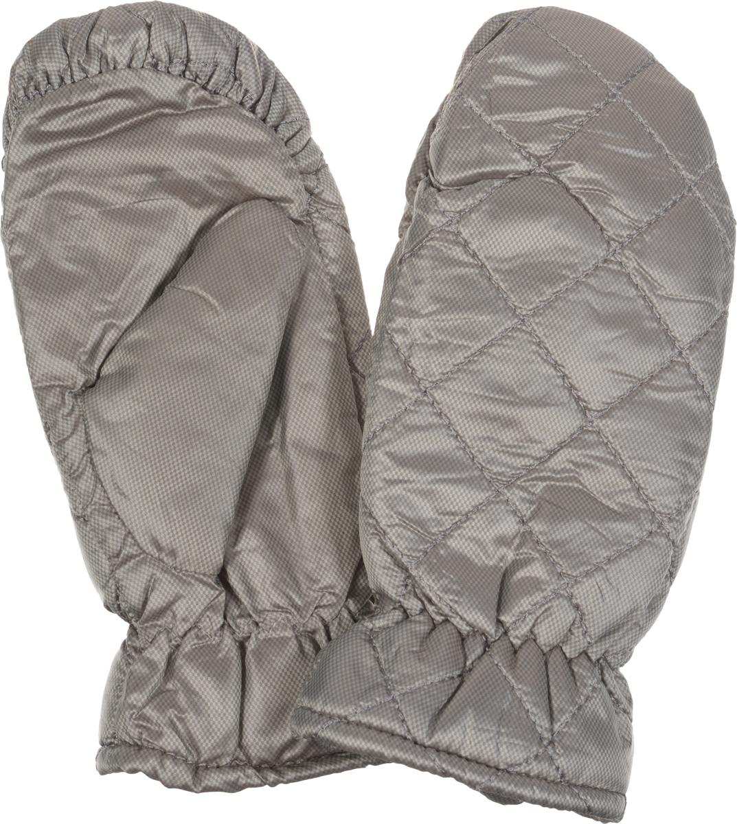 Рукавицы женские Modo, цвет: серо-коричневый. SD105. Размер M (7)SD105Рукавицы торговой марки Modo GRU защитят ваши руки от холода. Модель выполнена из 100% полиэстера с мягкой флисовой подкладкой внутри. Рукавицы хорошо сохраняют тепло, мягкие, идеально сидят на руке и не промокнут при носки. Манжеты на резинке. Декорированы рукавицы стегаными строчками на лицевой стороне. В таких оригинальных варежках вам будет тепло и уютно.