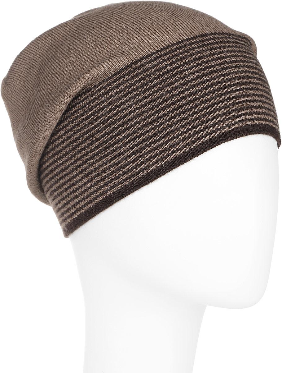 ШапкаA16-21154_202Стильная мужская шапка Finn Flare отлично дополнит ваш образ в холодную погоду. Сочетание шерсти и акрила максимально сохраняет тепло и обеспечивает удобную посадку. Шапка по низу оформлена принтом в тонкую полоску и металлической эмблемой с логотипом производителя. Такая модель комфортна и приятна на ощупь, она великолепно подчеркнет ваш вкус.