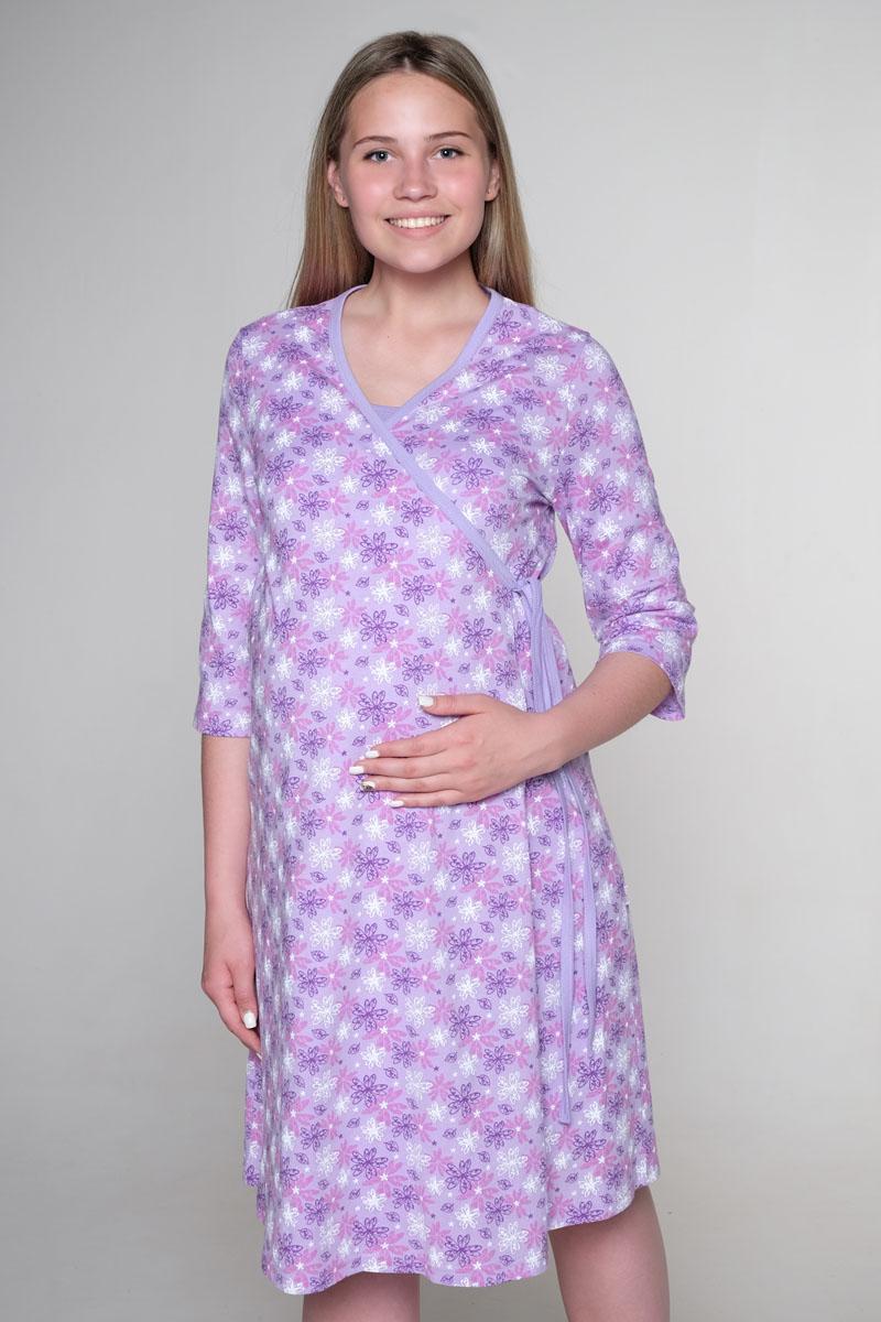 Домашний комплектКСР №2Стерильный комплект в роддом состоит из халата на запах с рукавом 3/4 и ночной сорочки с клипсой для кормления. Комплект находится в стерильной вакуумной упаковке. Вскрывать в роддоме.