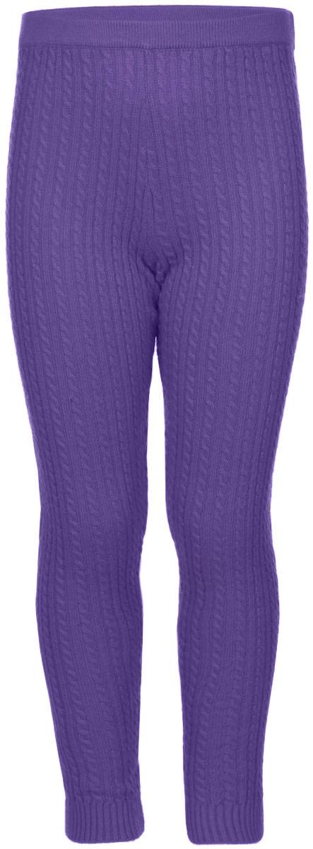 Леггинсы для девочки Sela, цвет: фиолетовый. PLGsw-515/115-6321. Размер 98, 3 годаPLGsw-515/115-6321Леггинсы для девочки Sela станут отличным дополнением к детскому гардеробу. Изготовленные из мягкой эластичной пряжи, они теплые, очень приятные на ощупь, не сковывают движения и позволяют коже дышать. Леггинсы дополнены на талии широкой эластичной резинкой. На брючинах предусмотрены манжеты. Оформлена модель вязаным узором.В таких леггинсах вашей принцессе будет тепло, комфортно и уютно!
