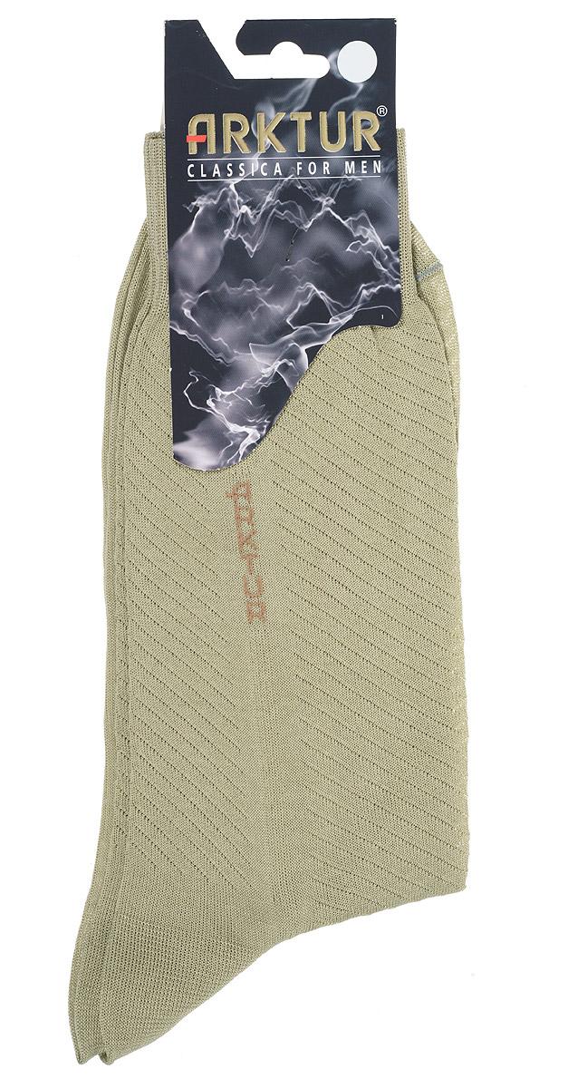 НоскиЛ 153Легкие мужские носки Arktur из мерсеризованного хлопка. Носки отличаются элегантным внешним видом. Эластичная резинка мягко облегает ногу, обеспечивая комфорт при носке. Модель оформлена логотипом бренда на паголенке и рельефными диагональными полупрозрачными полосками. Удобные и комфортные носки великолепно подойдут к любой вашей обуви.