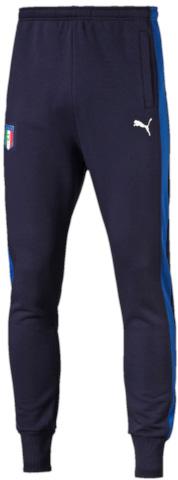 Брюки спортивные7504900_61Коллекция 2006-2016 TRIBUTE – дань уважения великолепной футбольной команде Италии! Любая модель этой линии – просто находка для настоящего болельщика! Спортивные брюки выполнены из натурального хлопка специально для фанатов, декорированы вышитым логотипом Puma и официальной эмблемой Федерации футбола Италии. Оно имеет стандартную посадку.