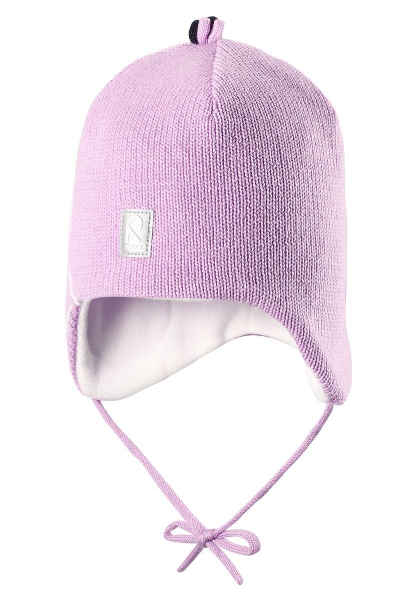 Шапка детская518359-0110Стильная зимняя шерстяная шапочка с большим количеством деталей. Вставки в области ушей придают дополнительную защиту, а подкладка из мягкого флиса подарит коже приятные ощущения.