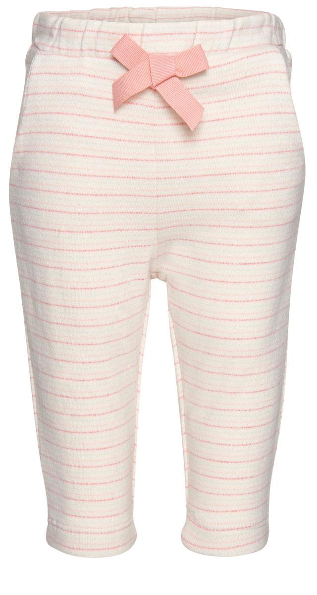 Брюки спортивные6828912.40.21_2067Детские спортивные брюки выполнены из высококачественного материала и оформлены принтом в полоску. Модель с эластичным поясом дополнена двумя боковыми карманами.