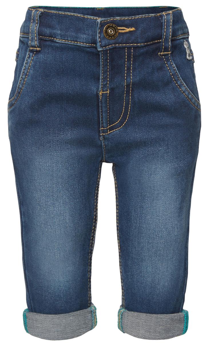Джинсы6204578.00.22_1094Стильные детские джинсы Tom Tailor выполнены из высококачественного материала. Модель на талии застегивается на металлическую пуговицу и имеет ширинку на застежке-молнии, а также шлевки для ремня. Джинсы дополнены спереди двумя втачными карманами и сзади - два накладных кармана.