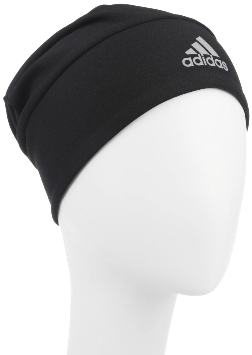 Шапка детскаяS94132В этой шапке ты сможешь комфортно тренироваться даже в холодную погоду. Модель из легкого материала с технологией climalite отводит излишки влаги от тела и обеспечивает ощущение сухости и тепла. Ткань с технологией climalite быстро и эффективно отводит влагу с поверхности кожи, поддерживая комфортный микроклимат. Модель дополнена светоотражающим логотипом бренда.