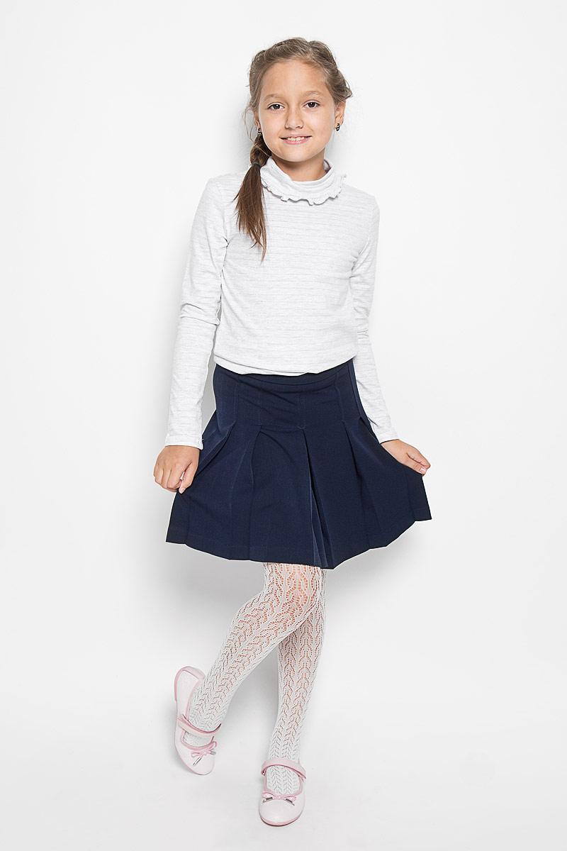 ЮбкаCWA26002A-20/CWA26002B-20Классическая юбка для девочки Nota Bene идеально подойдет вашей моднице и станет отличным дополнением к ее школьному гардеробу. Изготовленная из полиэстера и вискозы с добавлением лайкры, она мягкая и приятная на ощупь, не сковывает движения и позволяет коже дышать, не раздражает нежную кожу ребенка, обеспечивая наибольший комфорт. Модель-миди застегивается на застежку-молнию, расположенную сбоку. С внутренней стороны пояс регулируется эластичной резинкой с пуговицами. Изделие оформлено широкими складками. В такой модной юбке ваша дочурка будет чувствовать себя комфортно, уютно и всегда будет в центре внимания!