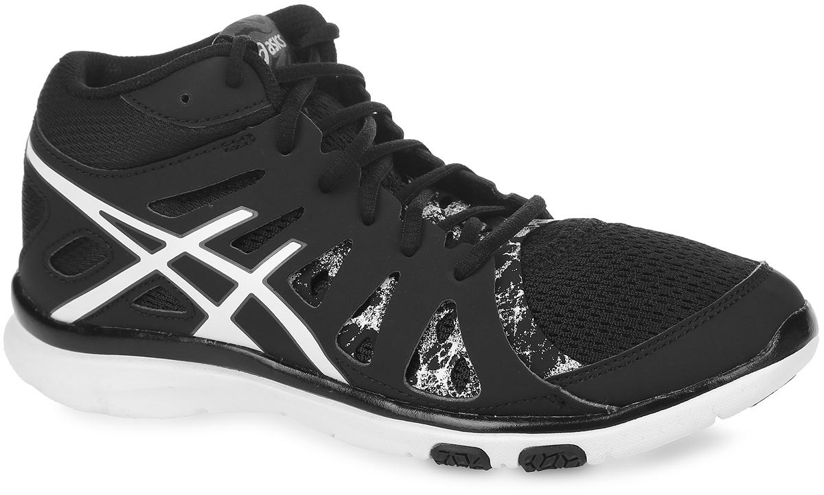 Кроссовки женские Asics Gel-Fit Tempo 2 Mt, цвет: черный. S564N-9001. Размер 8 (38)S564N-9001Новый классический стиль. В модели используются прочные полимерные материалы со вставками из дышащего текстиля, что обеспечивают отличную вентиляцию. Классическая шнуровка надежно зафиксирует изделие на ноге.Удобные кроссовки - незаменимая вещь в гардеробе спортсменки.