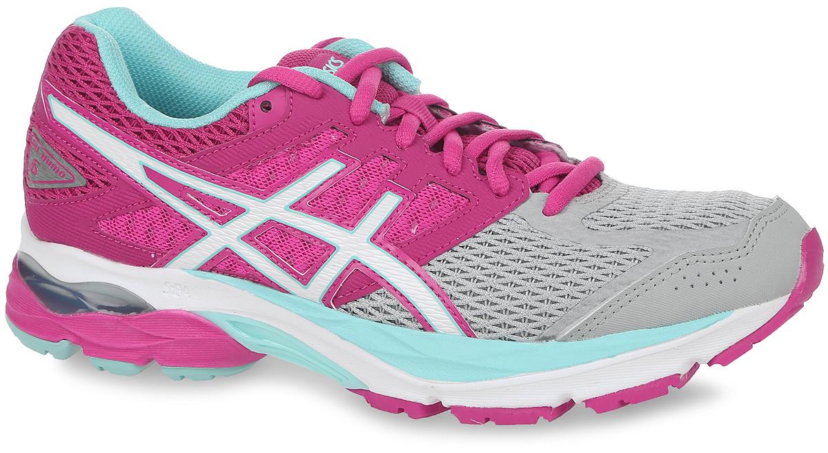 Кроссовки женские Asics Gel-Kumo 6, цвет: розовый. T668N-1901. Размер 8H (38,5)T668N-1901Новый классический стиль. В модели используются прочные синтетические материалы, вставки из дышащего текстиля обеспечивают отличную вентиляцию. Классическая шнуровка надежно зафиксирует изделие на ноге.Удобные кроссовки - незаменимая вещь в гардеробе спортсменки.