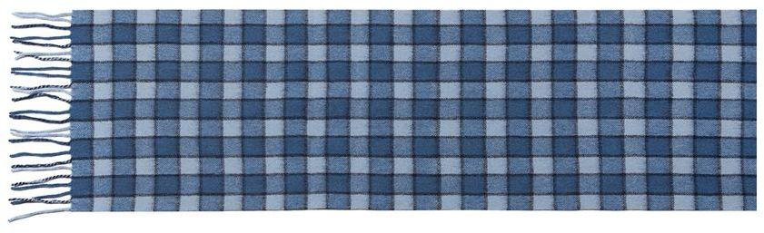 ШарфLA42-495Мужской шарф Labbra, изготовленный из шерсти с добавлением кашемира, мягкий и приятный на ощупь. Изделие оформлено принтом в клетку. По короткому краю модель оформлена тонкими кисточками, скрученными в жгутики.
