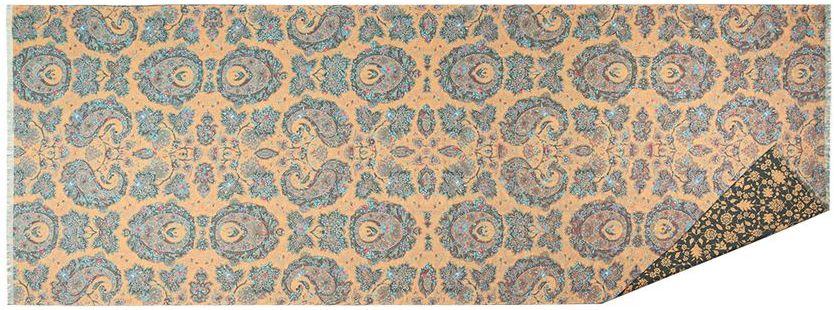 ПалантинFA34-0625Стильный палантин Eleganzza, изготовленный из шелка и вискозы, мягкий и приятный на ощупь. Изделие оформлено цветочным принтом. По короткому краю модель оформлена бахромой.