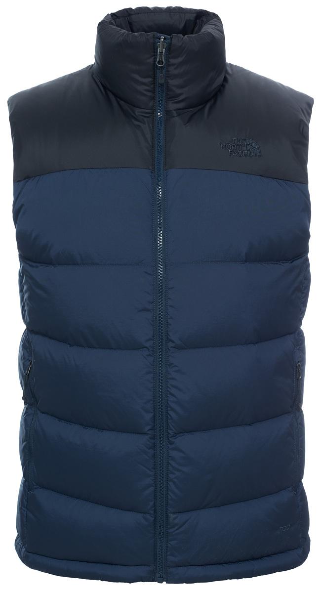 Жилет утепленныйT0AUFGJK3Классический пуховый жилет The North Face Nuptse 2 Vest незаменим в самых разных условиях. Модель с воротником-стойкой на застежке-молнии. В качестве утеплителя используется объемный гусиный пух 700-й набивки. На случаи плохой погоды воротник скрывает нейлоновый капюшон. Усиления на плечах предохраняют от истирания при контакте с веревкой или лямками рюкзака. Жилет подойдет как для восхождений и треккинга, так и для зимних городских условий.