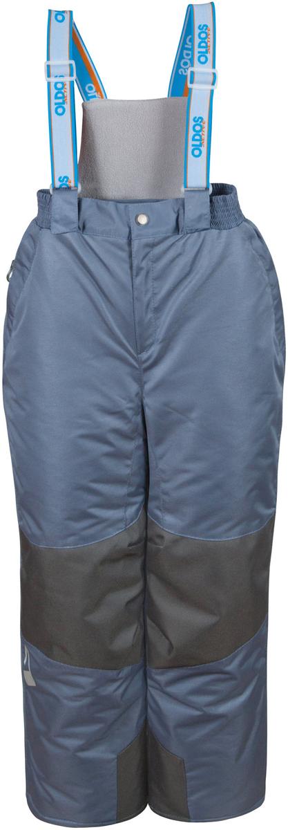 Брюки утепленные16/OA-1PT442Брюки для девочки Oldos Active Эмма легкие, удобные, практичные брюки, без которых зимой не обойтись. Внешнее покрытие Teflon защищает от воды и грязи, обеспечивает дополнительную износостойкость и легкость в уходе (часто достаточно просто протереть мокрой тряпочкой). Специальная дышащая мембрана 5000/5000 обеспечивает водонепроницаемость и отвод влаги. Утеплитель HOLLOFAN PRO 150 г/м2 эффективно сохраняет тепло и согревает ребенка даже при очень низкой температуре воздуха (температурный режим от -30°С до +5°С), он гипоаллергенен, не впитывает запахи и влагу. Спинка модели съемная, с внутренней стороны отделана мягкой флисовой подкладкой. Скользящая подкладка позволит с легкостью одеть брюки на любое термобелье или колготы. Колени и низ брючин укреплены дополнительным слоем ткани, помогающим избежать преждевременного износа. Широкие съемные лямки брюк регулируются по длине. Противоснежные муфты с антискользящей резинкой надежно защищают ребенка от мокрого...