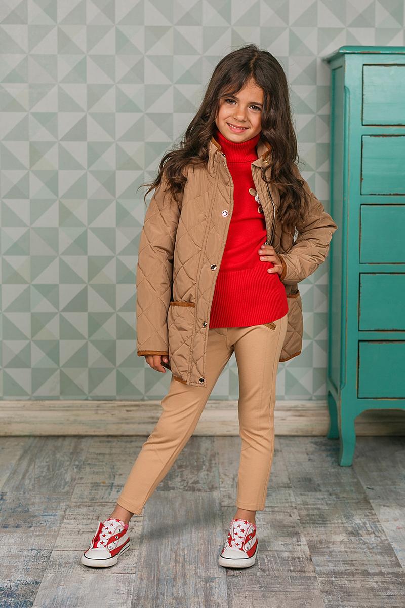 Куртка205401Куртка для девочки Sweet Berry изготовлена из высококачественного материала. Подкладка и наполнитель из полиэстера. Куртка с воротником-стойкой застегивается на застежку-молнию и дополнительно клапаном на кнопки. Модель дополнена двумя боковыми карманами.